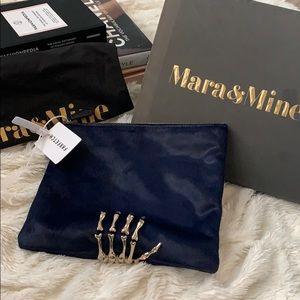 Handbags - Mara & Mine Skelton Hand Clutch [BRAND NEW]